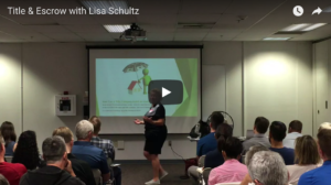 Title & Escrow with Lisa Schultz