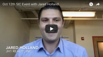 Oct 12th – Jared Holland teaches how to flip w/almost none of your own money