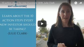10 action steps for new investors! With Julie Clark