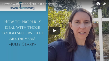 How to work with sellers that are drivers