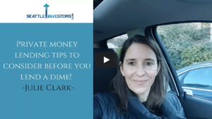 Private money lending tips to consider before you lend a dime!