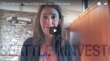 Tip of the day: How to find more real estate leads