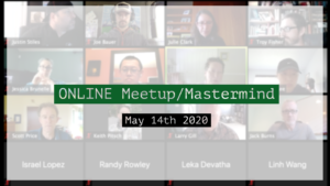 Meetup_Mastermind Recording May 14th 2020 by Julie Clark
