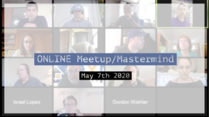 Meetup_Mastermind Recording May 7th 2020 by Julie Clark and friends