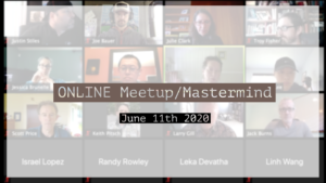 Meetup_Mastermind June 11th 2020 by Julie Clark