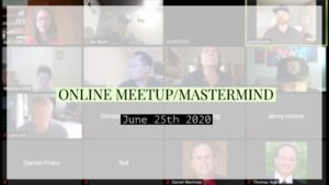 Online meetup/mastermind with Julie Clark of the Seattle Investors Club
