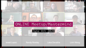 Meetup_Mastermind June 4th 2020 with Julie Clark