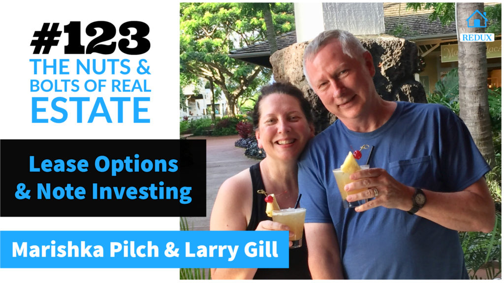 SIC 123_ Redux - Lease Options & Note Investing w_Larry & Marishka drinking in Hawaii
