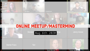 Meetup_Mastermind Aug 6th with Julie Clark
