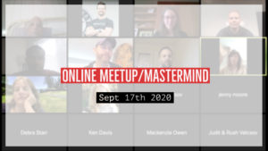 Meetup_Mastermind Sept 17th 2020 with Julie Clark
