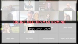 Meetup_Mastermind Sept 24th 2020 with Julie Clark