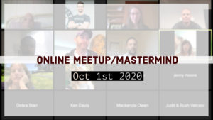 Meetup_Mastermind Oct 1st 2020 with Julie Clark
