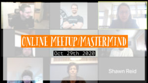 Meetup_Mastermind Oct 29th 2020 with Julie Clark of Exp Real Estate and Seattle Investors Club