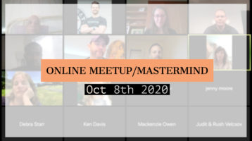 Meetup_Mastermind Oct 8th 2020 with Julie Clark