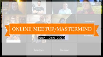 Meetup_Mastermind Nov 12th 2020 with SIC members