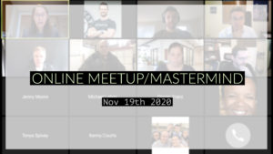 Meetup_Mastermind Nov 19th 2020 with Julie Clark