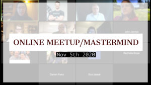 Meetup_Mastermind Nov 5th 2020 with Julie Clark