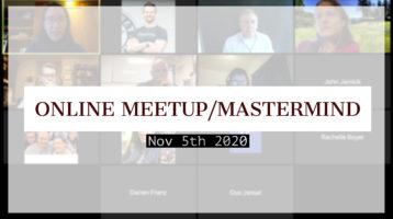 Meetup_Mastermind Nov 5th 2020 with Julie Clark