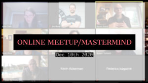 Meetup_Mastermind Dec 10th featuring Julie Clark, Scott Price, and Aaron Royce