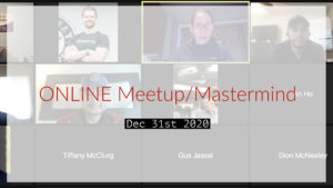 Meetup_Mastermind Dec 31st 2020 with Julie Clark and Justin Stiles