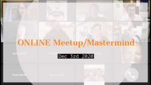 Meetup_Mastermind Dec 3rd with Julie Clark and Troy Fisher