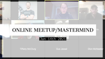Meetup_Mastermind Jan 14th 2020 with Julie Clark and Kevin Kilinski and Troy Fisher