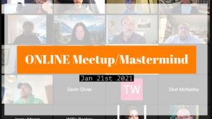 Meetup_Mastermind Jan 21st 2021 with Julie Clark and Marishka Pilch