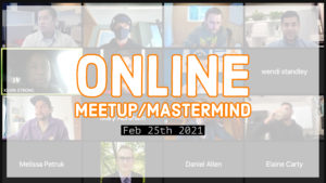 Meetup_Mastermind Feb 25th 2021 with Julie Clark