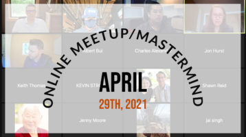 Meetup_Mastermind April 29th 2021 with Julie Clark and Tom Laune