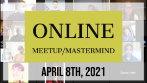 Meetup_Mastermind April 8th 2021 with Julie Clark and Kevin Kolinski