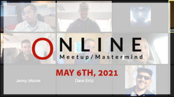Meetup_Mastermind April 22nd 2021 with Dion and Kevin