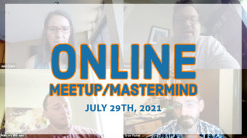 Meetup Mastermind July 29th 2021