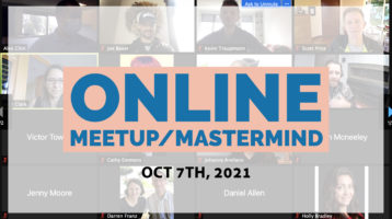 Meetup Mastermind Oct 7th 2021